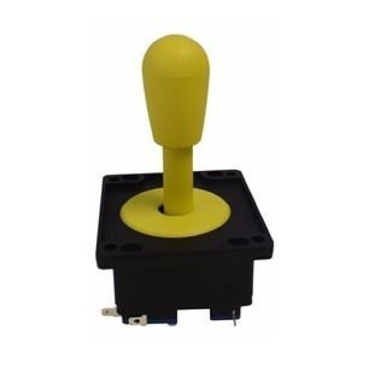Comando Aegir Com Placa Magnética Aegir Para Arcades Amarelo