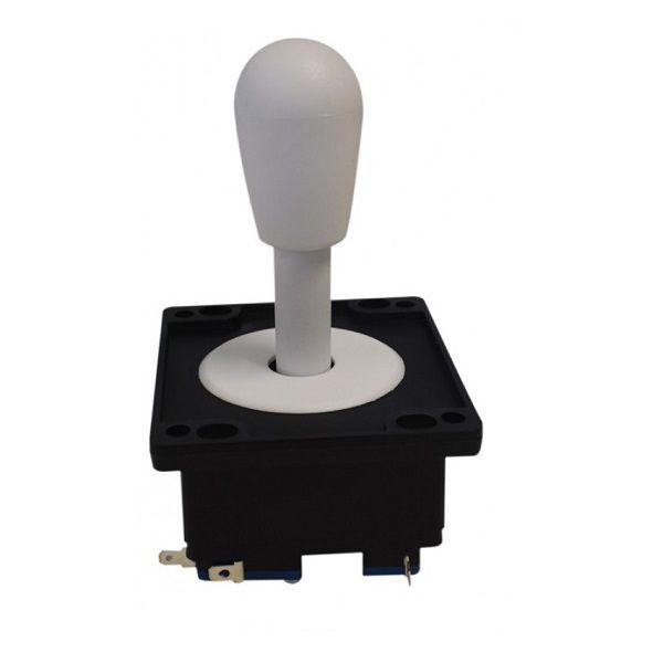 Comando Joystick Aegir Modelo 2017 Colorido C/ Micros Switch Branco
