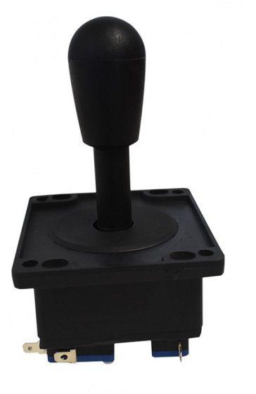 Comando Joystick Aegir Modelo 2017 Colorido C/ Micros Switch Preto