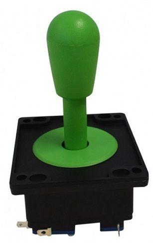 Comando Joystick Aegir Modelo 2017 Colorido C/ Micros Switch Verde