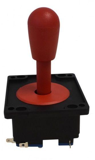 Comando Joystick Aegir Modelo 2017 Colorido C/ Micros Switch Vermelho