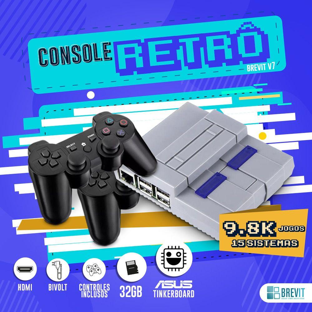 Console Retor Brevit V7 32GB - Asus Tinker Board 2GB