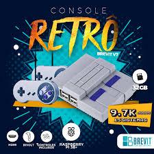 Console Retro Recalbox Brevit V7 32GB