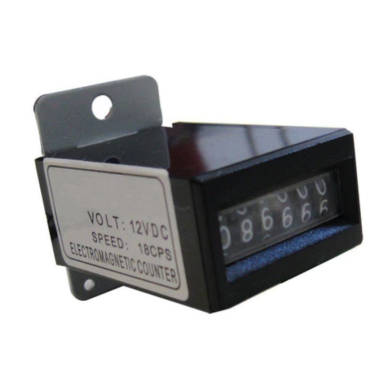 Relógio Contador Mecânico 12v P/ Fliperama Arcade Jukebox - Aegir
