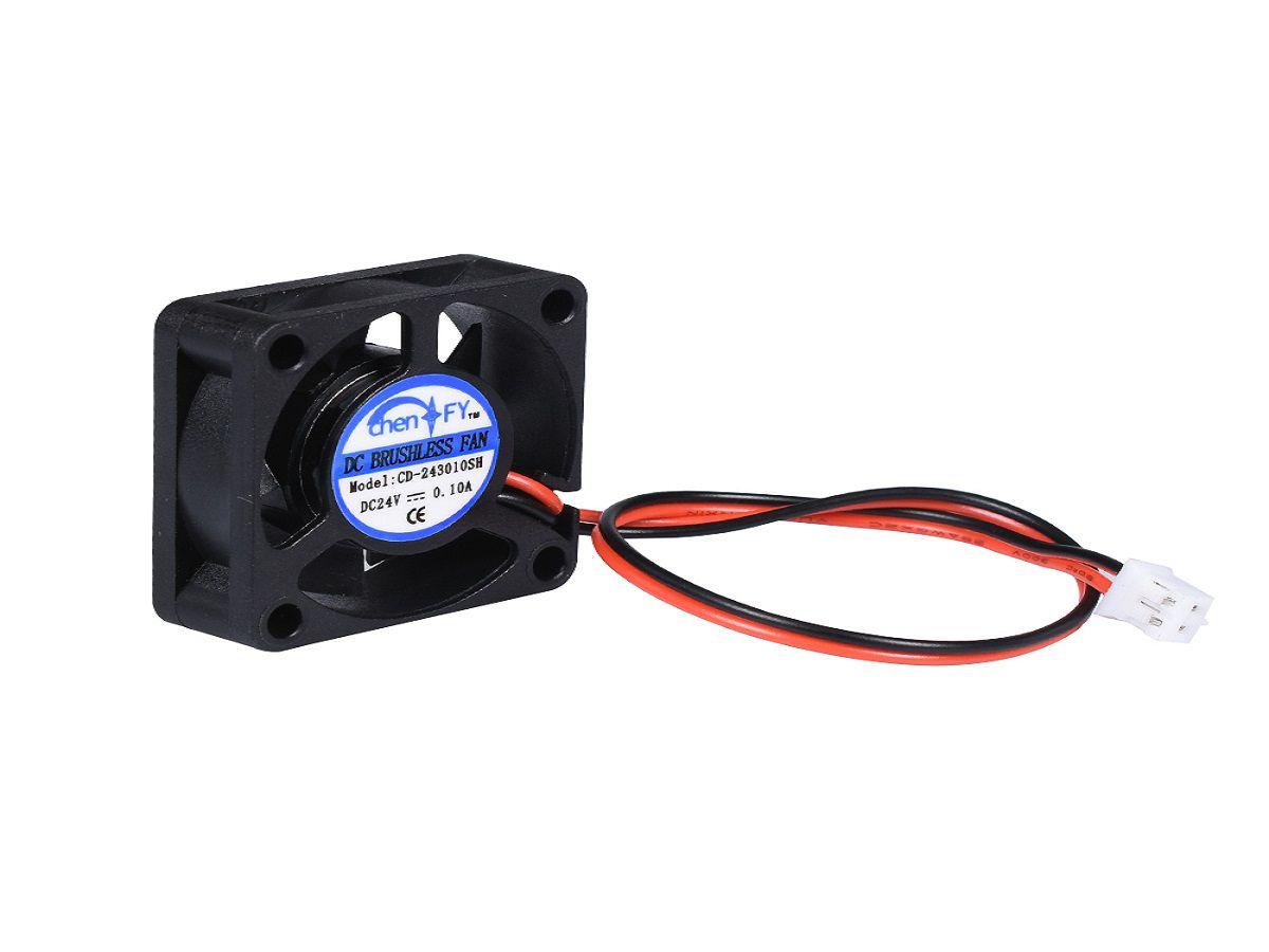 Cooler De 10mm Para Raspberry Pi 3 Pi3 - 30x30x10mm 5v