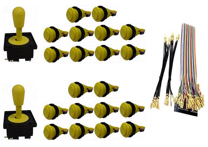 Kit Com 2 Comandos Aegir 20 Botões De Nylon e Cabo Gpio