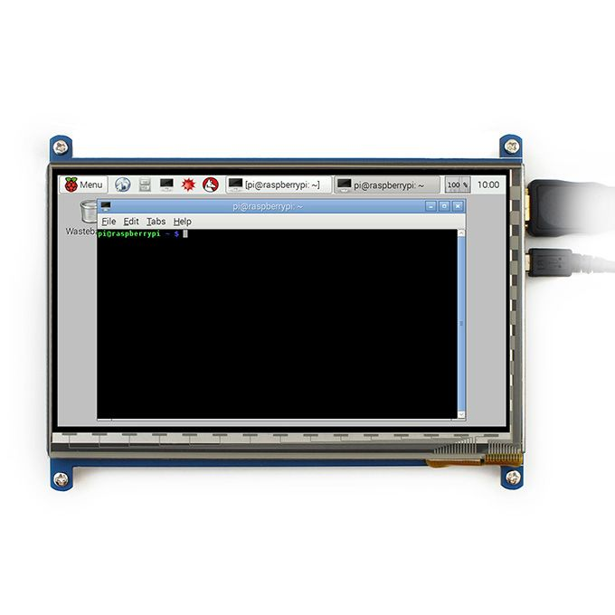 Display Lcd 7  Touch Screen