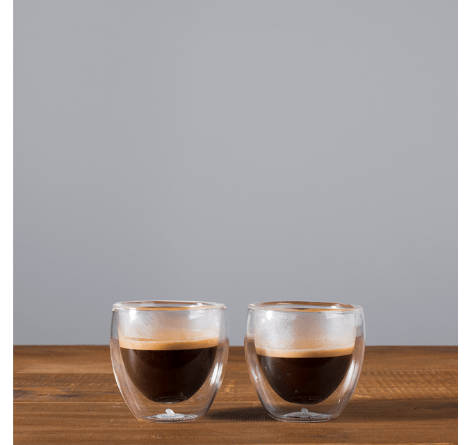 DUPLA DE COPOS P/ CAFÉ