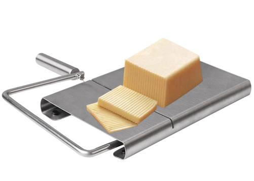 Fatiador Cortador De Queijo Fio Aço Inox Multifuncional - Mimo