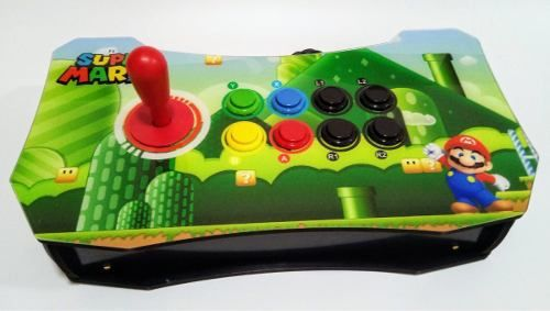 Joystick Controle Arcade Para Pc, Ps3, Ps4, Raspberry Pi- Mario