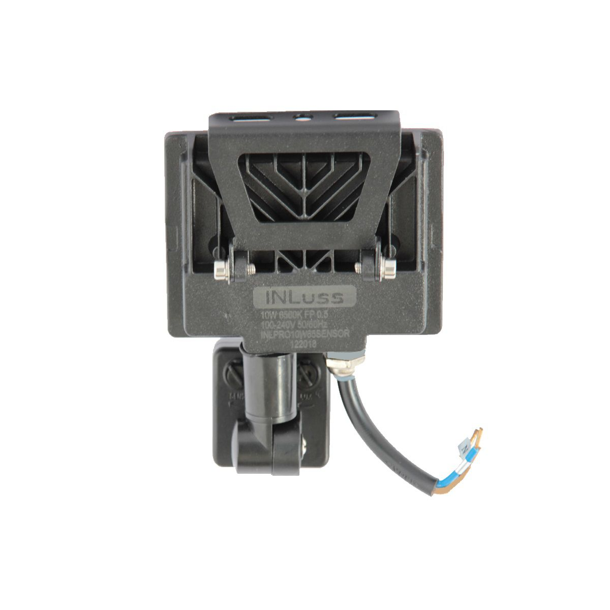 Kit 2 Projetor Led Super Slim 10W Com Sensor Branco Frio Bivolt