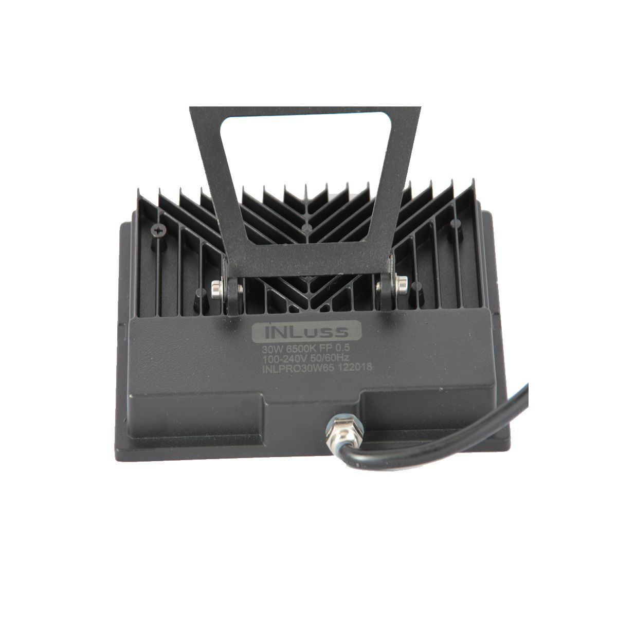 Kit 2 Projetor Led Super Slim 30W Branco Frio Bivolt