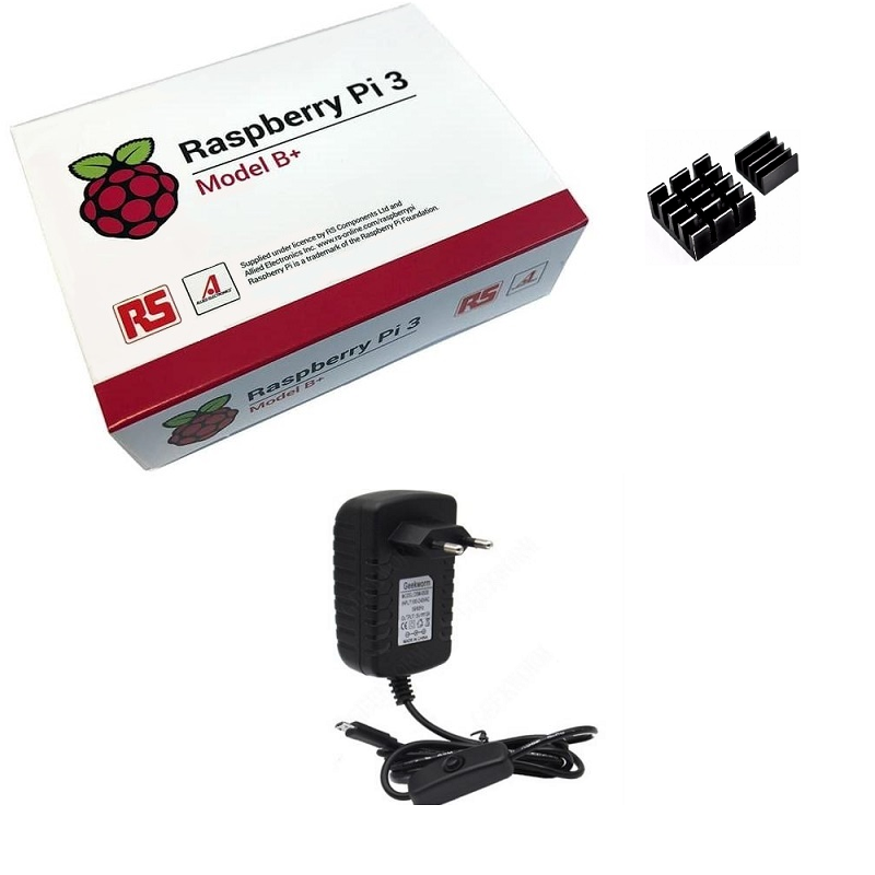 Kit Básico Raspberry Pi 3 B+ Plus