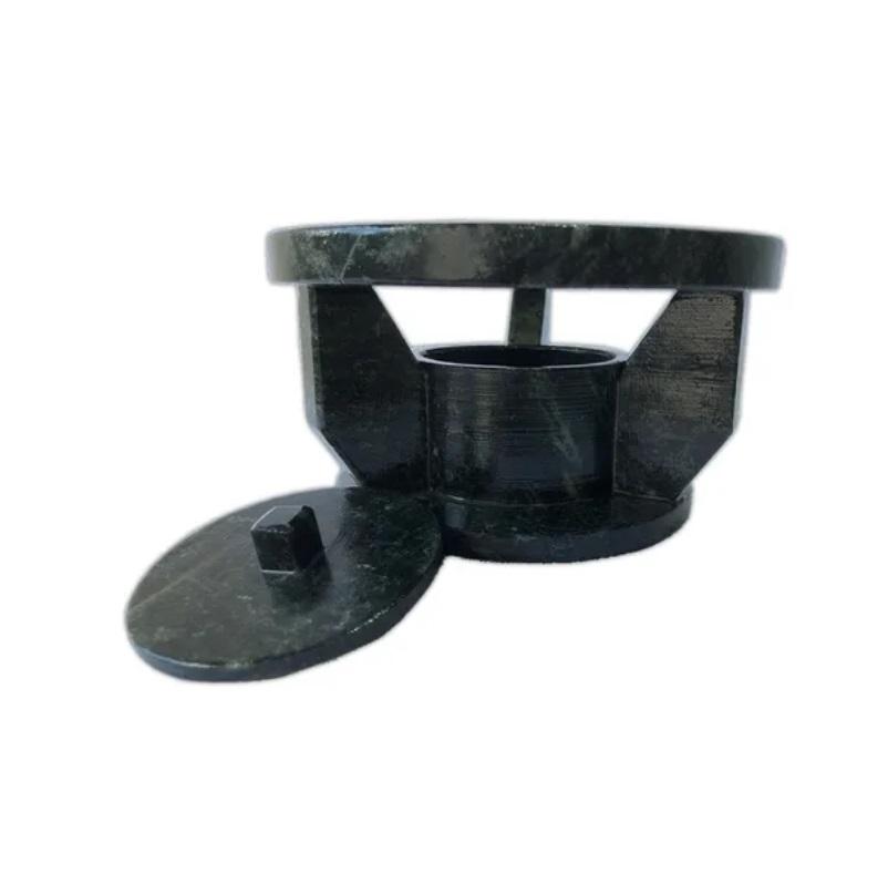 Kit Fondue De Pedra Sabão 37cm Super Grande