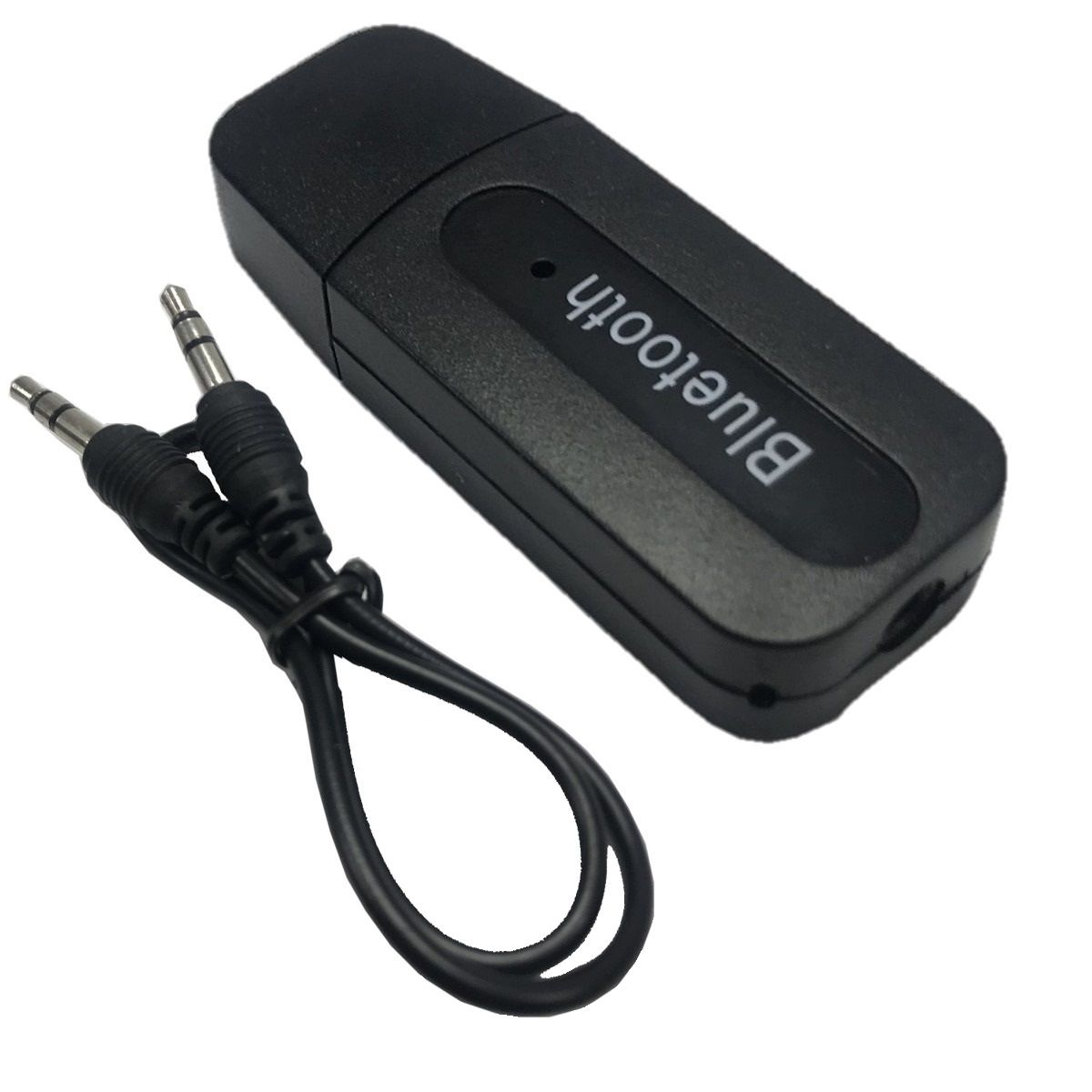 Kit Receptor Bluetooth Usb P2 áudio Stereo 2 peças