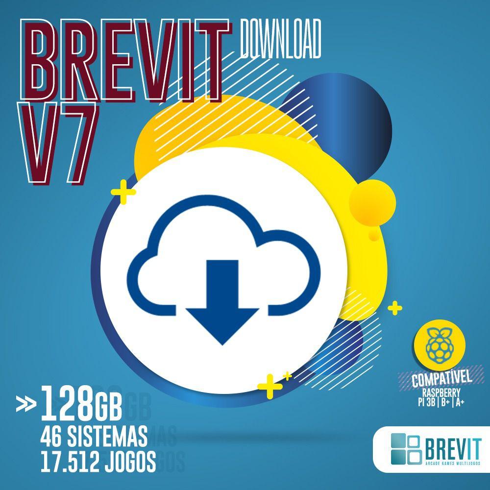 LINK DE DOWNLOAD BREVIT V7  128GB P/ RASP B, B+ E A+