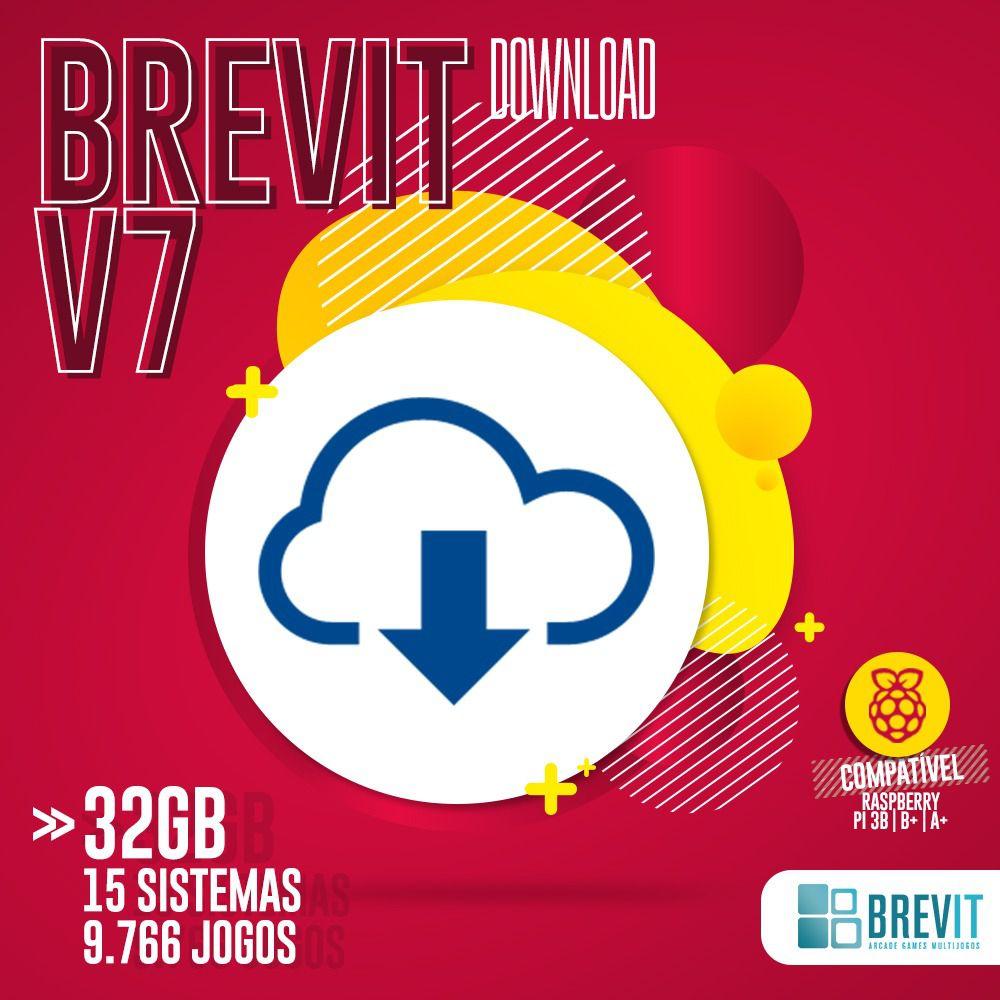 LINK DE DOWNLOAD BREVIT V7 32GB  P/ RASP B, B+ E A+