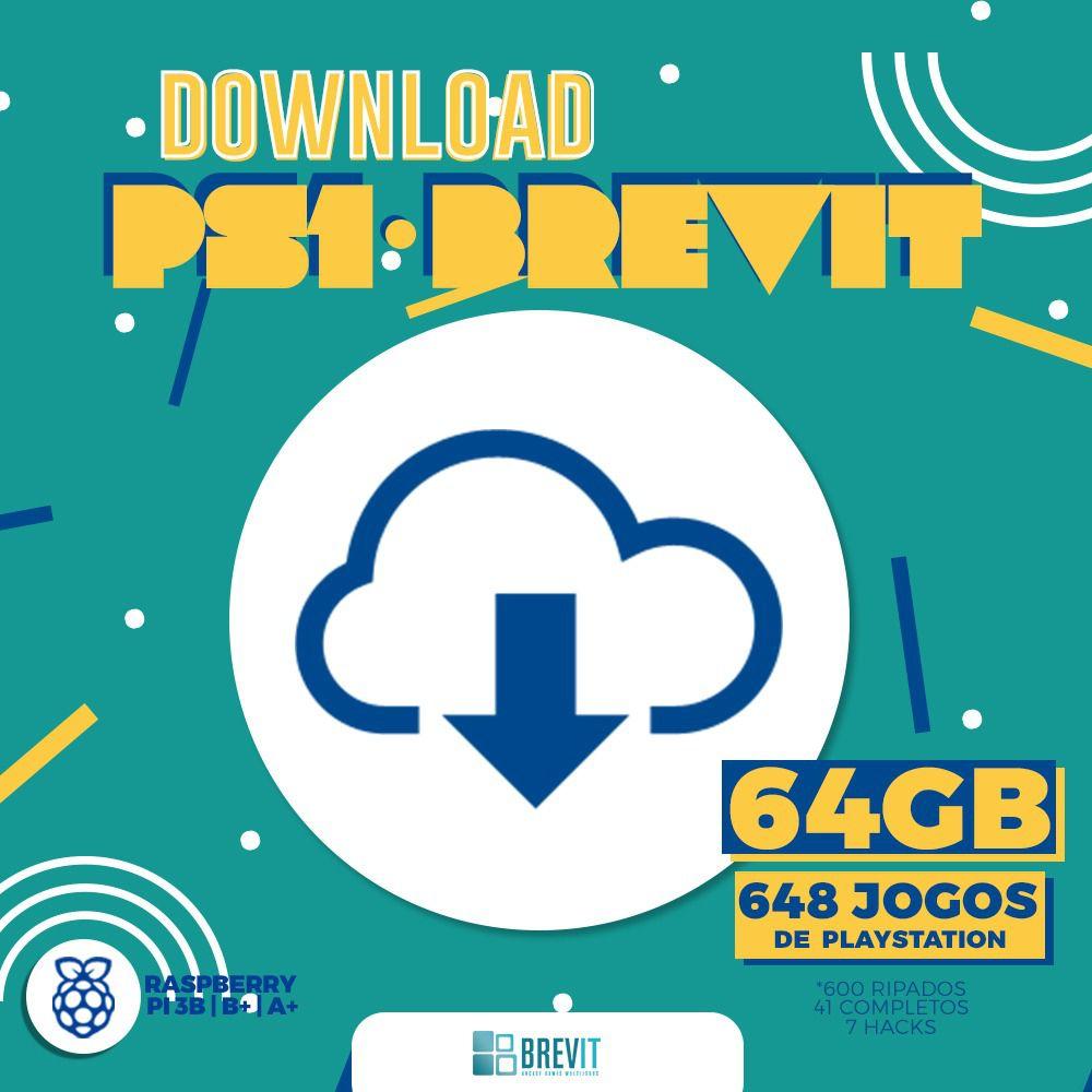 Link de Download Brevit V7 G4GB PS1 P/Rasp B e B+
