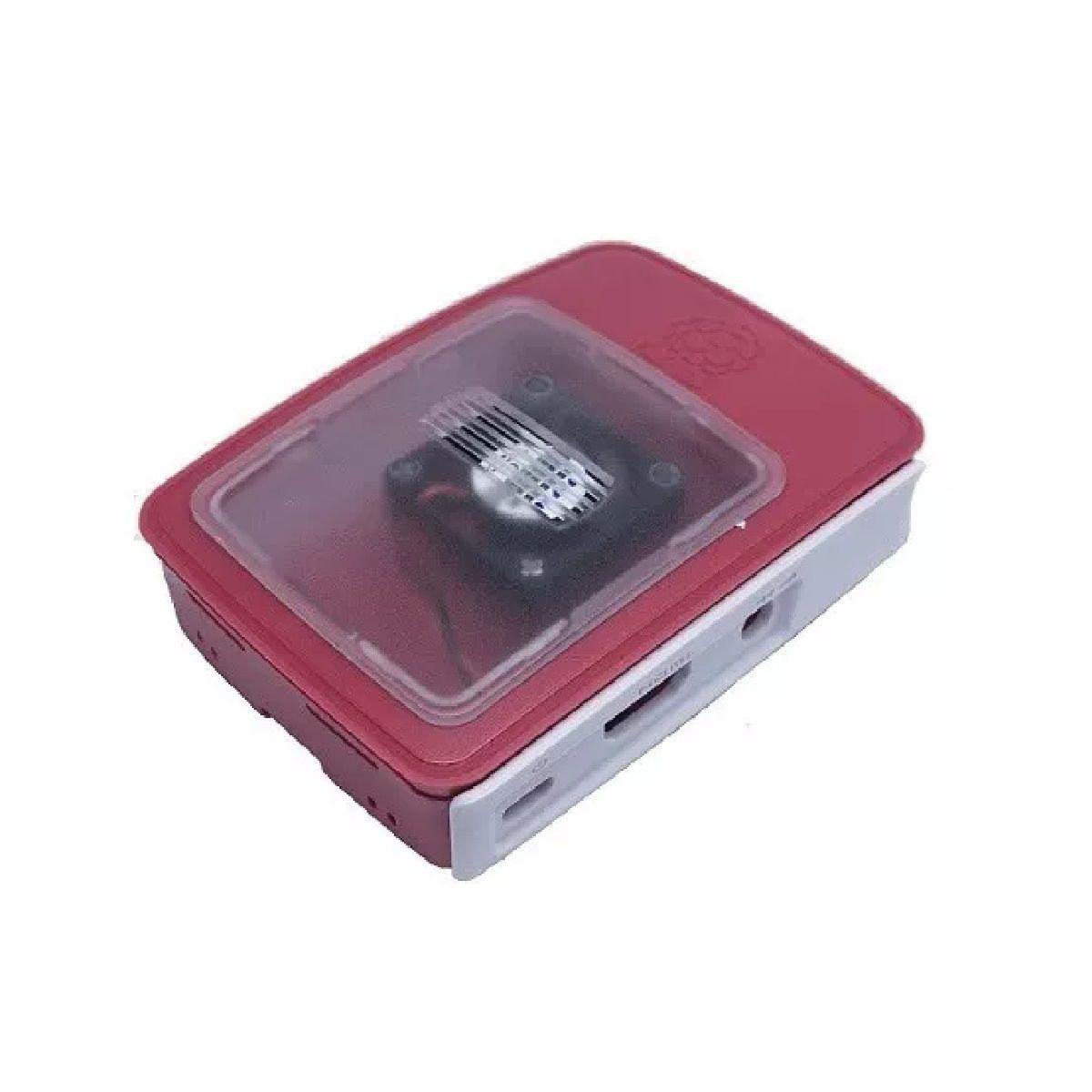 Nova Case Official Com Cooler Para  Raspberry Pi 3 Pi3