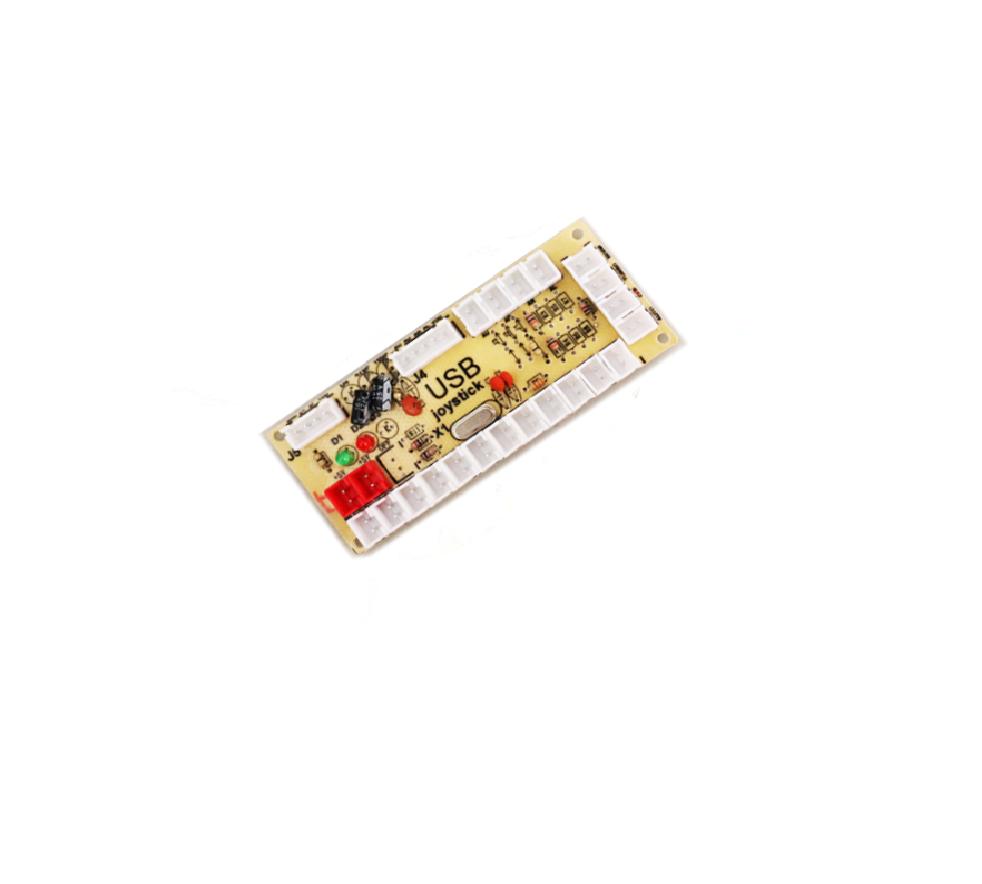 Placa Zero Delay Usb Arcade Joystick Para Raspberry Pi3 Pc Ps4 Conector 4.8mm Padrão nacional