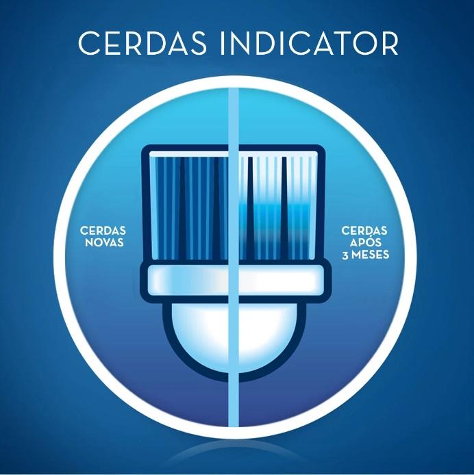 REFIL ESCOVA ELETRICA ORAL-B PRECISION CLEAN  C/ 4 UNIDADES