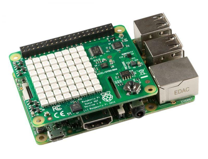 Sense Hat Para Raspberry Pi 3 Pi3 + Case