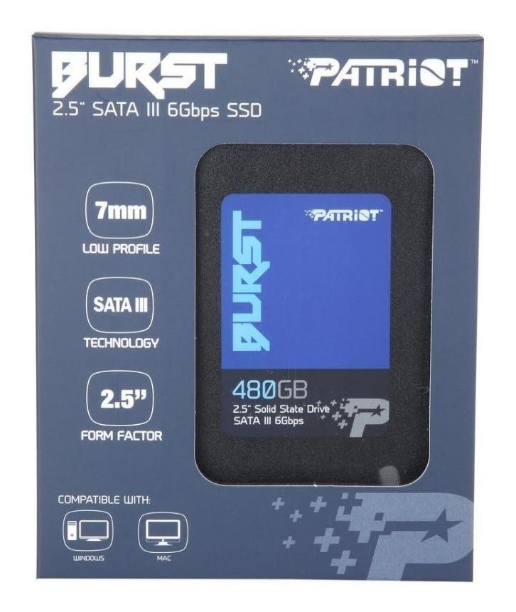 SSD PATRIOT 480GB