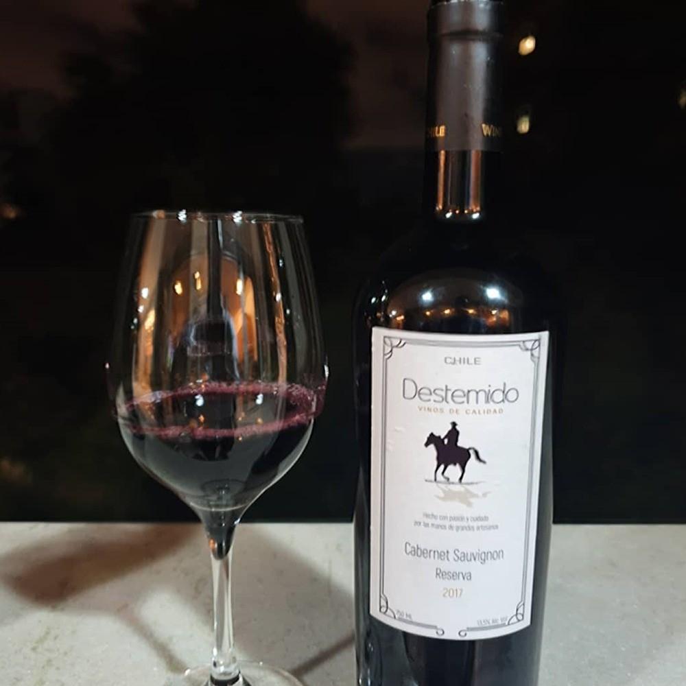 Vinho Tinto Destemido Cabernet Sauvignon Reserva
