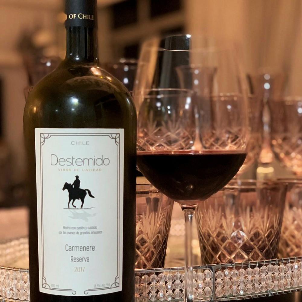 Vinho Tinto Destemido Carménère Reserva