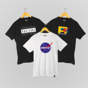Kit 3 Camisetas - Space Pack