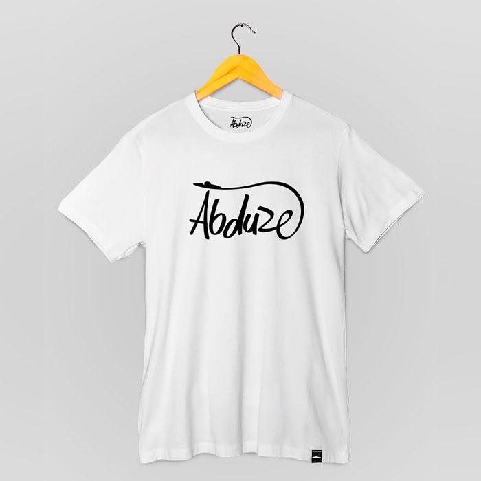 Camiseta Abduze - Branca