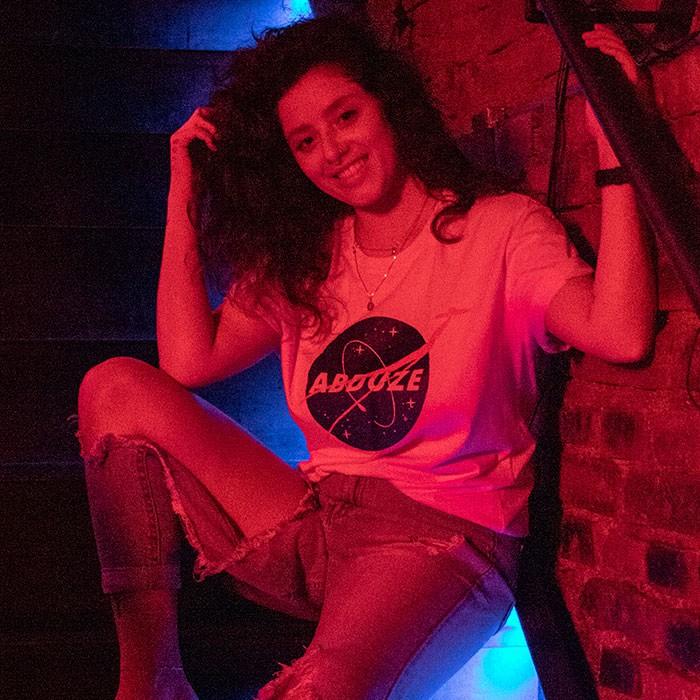 Camiseta Space - Branca