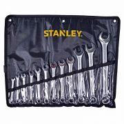 Chave Combinada Stanley Jogo com 12 Peças 6 a 22mm
