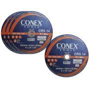 Disco de Corte Refratário 9 Pol Conex - Kit com 4 Unidades