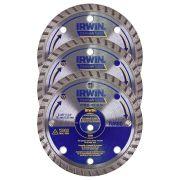 Disco Diamantado Segmentado Premium 110mm Irwin - 3 Unidades