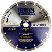 Disco Diamantado Segmentado Premium 230mm Irwin