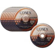 Disco para Desbaste 4.1/2 Pol Conex - Kit com 10 Unidades