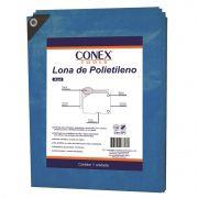 Lona Polietileno Azul Top 4x3m Conex