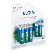 Pilhas Alcalinas Elgin - 6 Unidades