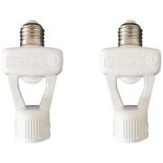 Sensor de Presença para Lâmpada E-27 360 Graus Qualitronix - Kit com 2 Unidades