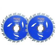 Serra Circular Widea 4.3/8 Pol 20 Dentes Topa Tudo Conex - Kit com 2 Unidades