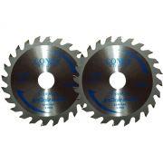 Serra Circular Widea 4.3/8 Pol 24 Dentes Conex - Kit com 2 Unidades