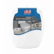 Tampa de Vaso Sanitário Branco Almofadado Premium Thema HERC