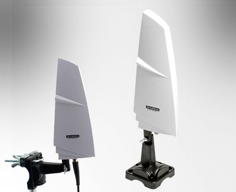 Antena Interna e Externa Digital e Analógica Megatron
