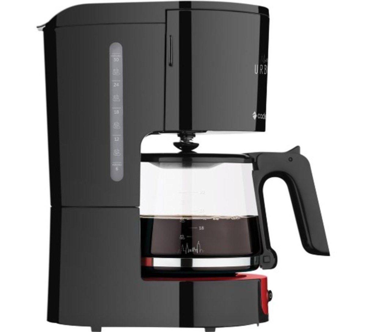 Cafeteira Elétrica Cadence Urban 1,2 Litros 750W