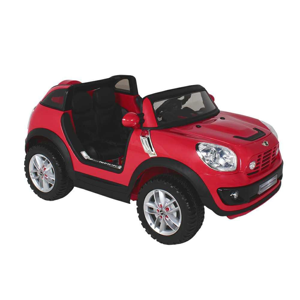 Carrinho Elétrico Infantil Mini Beachcomber Vermelho com Controle Remoto Belfix