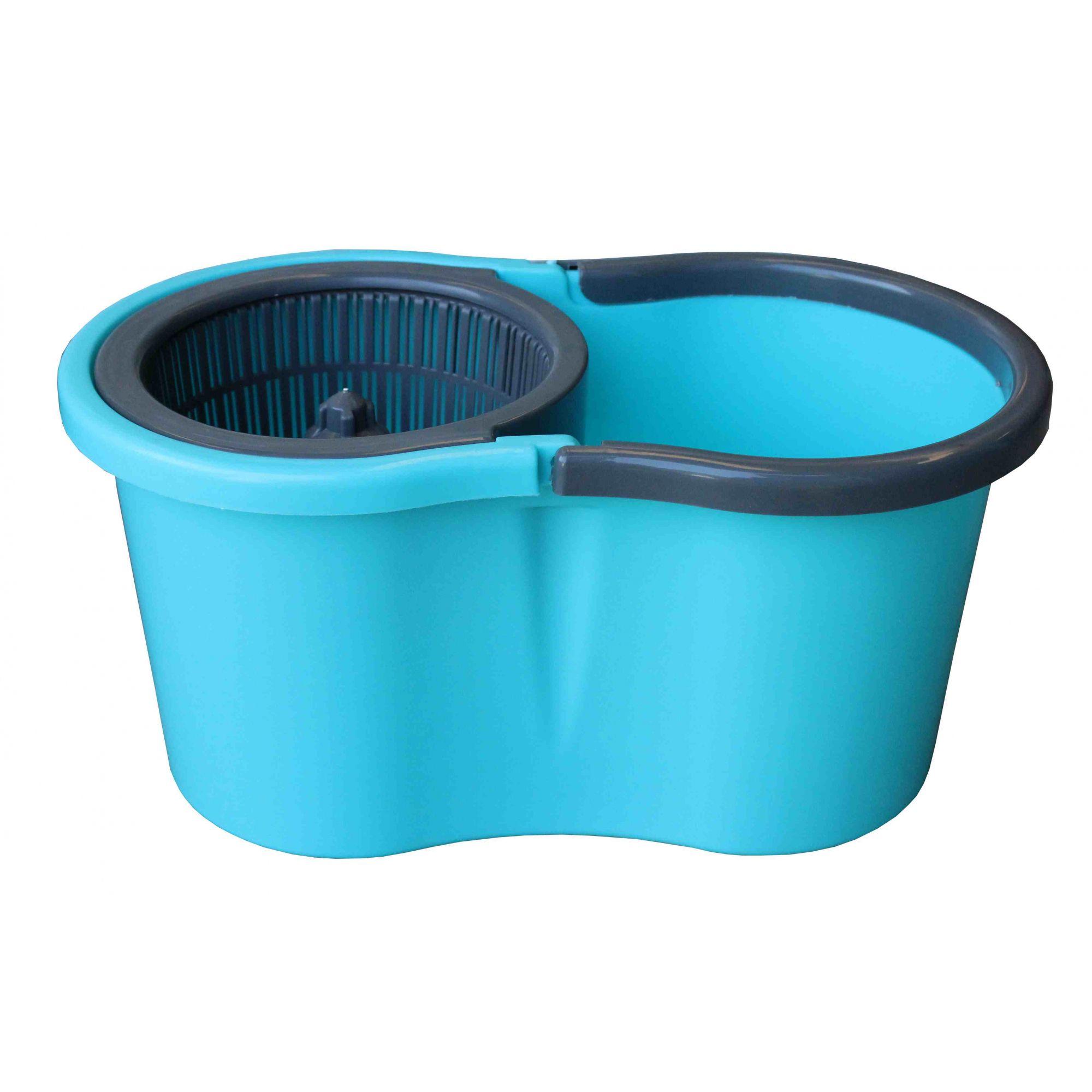 Esfregão MOP Premium Centrífuga Azul Turquesa Mundi