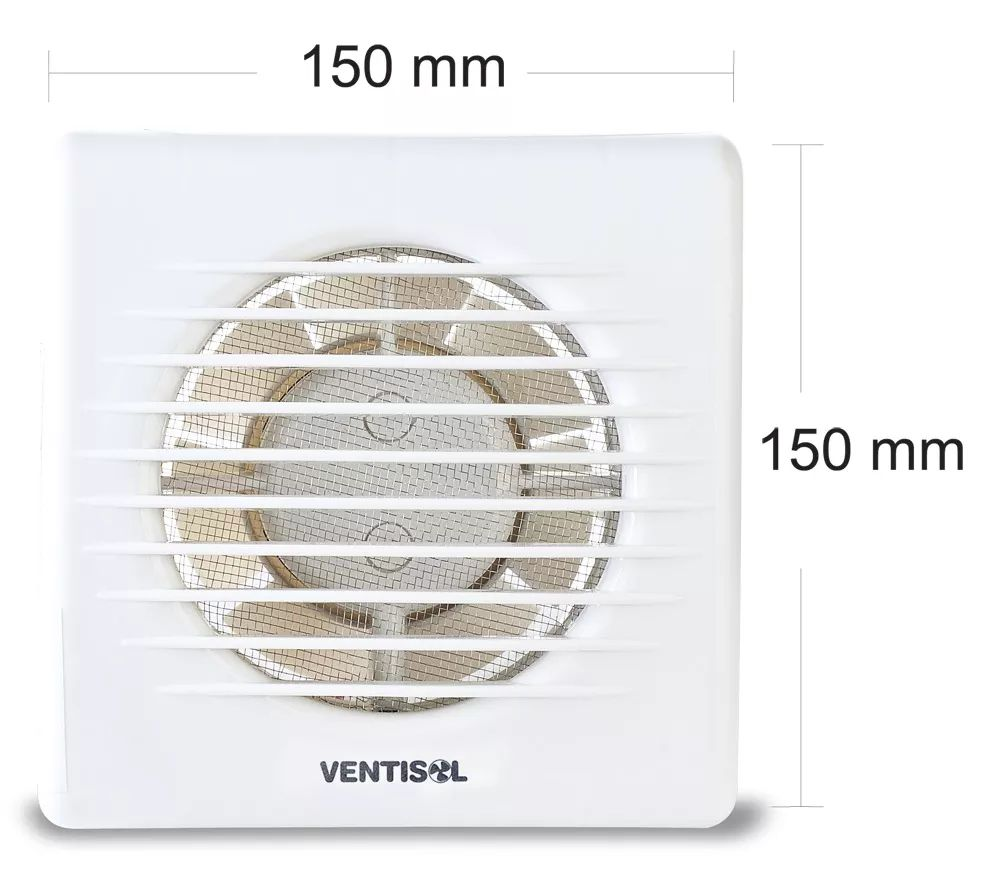 Exaustor para Banheiro EXB 100mm 10W Ventisol