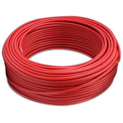 Fio Cabo Flexível 1,5mm Vermelho 100 metros INDUSFLEX