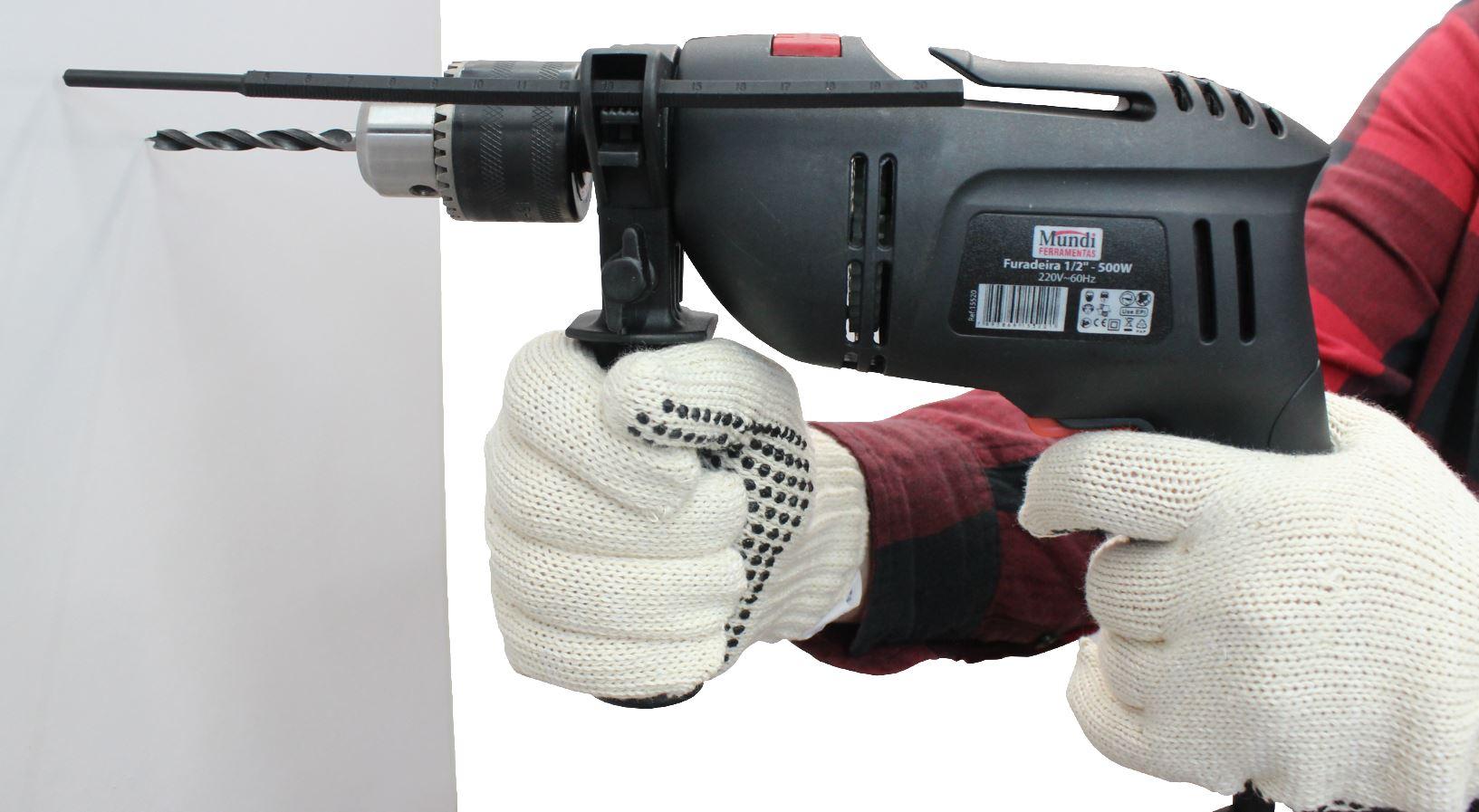 Furadeira Impacto VVR 13mm 500W Mundi